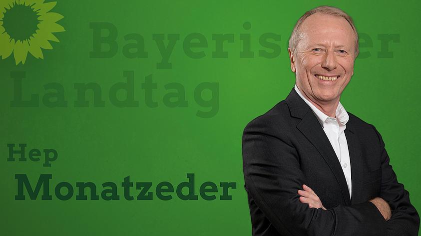 Hep Monatzeder MdL Banner